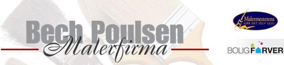 Malerfirma Bech Poulsen A/S logo